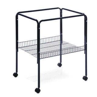 Prevue Pet Products Black Bird Cage Stand with Shelf