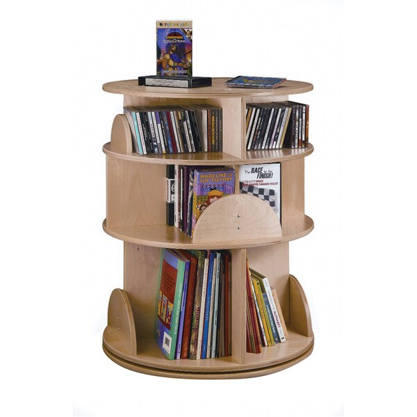 Whitney Brothers Kids 3-level Carousel Media Center