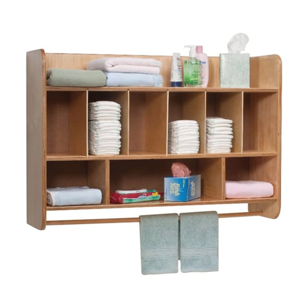 Whitney Brothers Kids NewWave Hang-on-the-Wall Diaper Unit