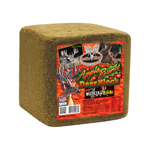 Antler King Apple Burst Mineral Block