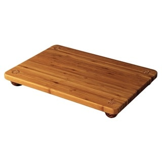 Totally Bamboo 13-inch Cork Footed Serving Board