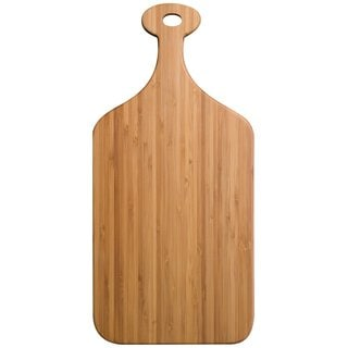 Totally Bamboo Medium Greenlight Paddle Cutting Board