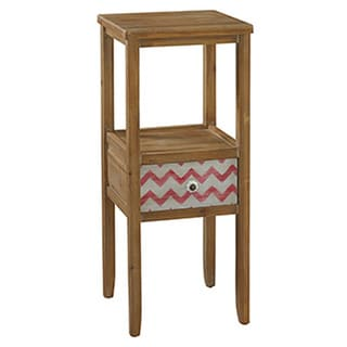 Powell Squiggly Dee Accent Table