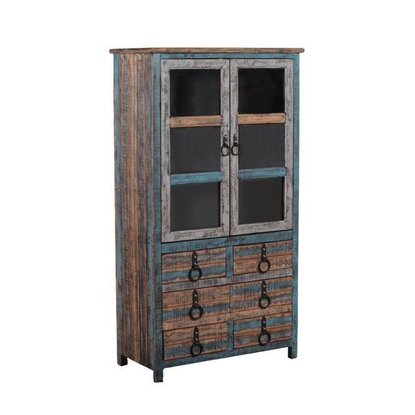 Powell Calypso High Cabinet Overstock Shopping Big Discounts On Powell Office Storage