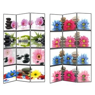 Flower Spa Room Divider