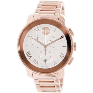 Movado Men's 3600207 Bold Rose Goldtone Steel Watch