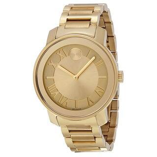 Movado Men's 3600197 'Bold' Goldtone Steel Watch