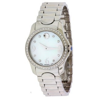 Movado Women's 0606706 Moda Stainless Steel Watch