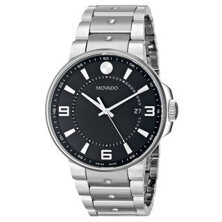 Movado Men's 0606761 SE Pilot Stainless Steel Watch