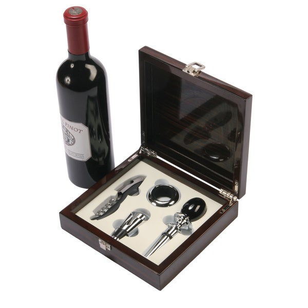Red Vanilla Piano Varnish 5-piece Wine Accessories
