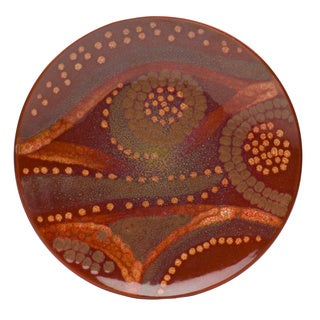 Vanilla Organic Brown Salad Plate (Set of 8)