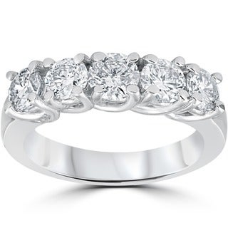 14k White Gold 1 1/2ct TDW Diamond Ring (G-H, I2-I3)