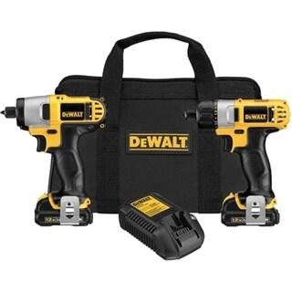 Dewalt DCK210S2 12V MAX Cordless Li-Ion Screwdriver / Impact Driver C