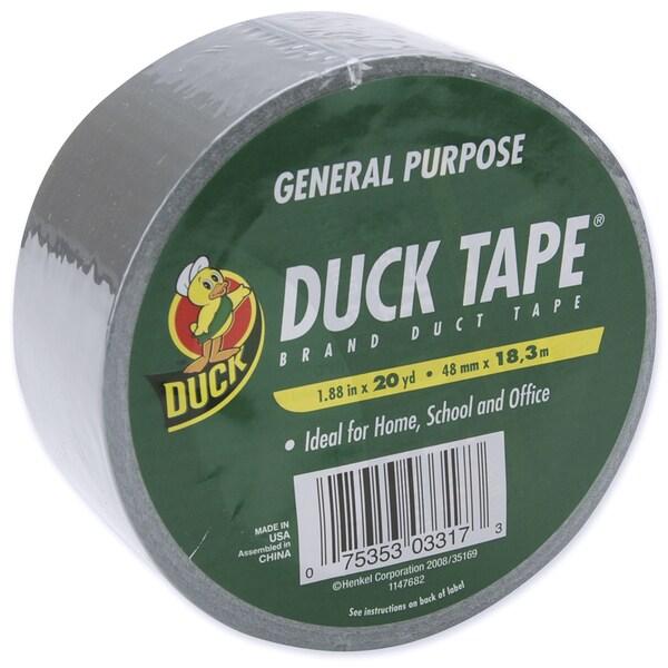 """Duck Tape 1.88""""X20yd-Silver"""