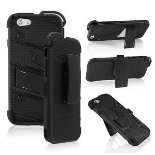 INSTEN Holster Neck Lanyard Stand Hybrid Combo Case for Apple iPhone 6 4.7-inch
