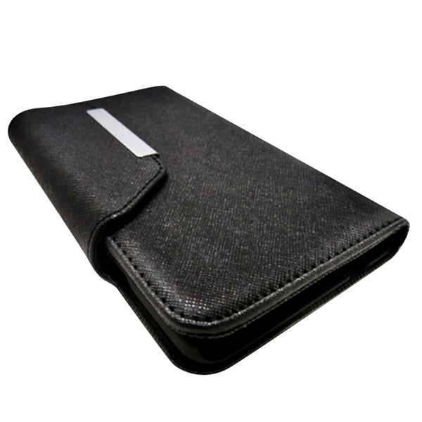 INSTEN Leather Folio Book-Style Flap Wallet Case For Apple iPhone 6 4.7-inch