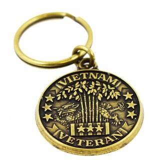 Commemorative Vietnam Veteran Military Keychain