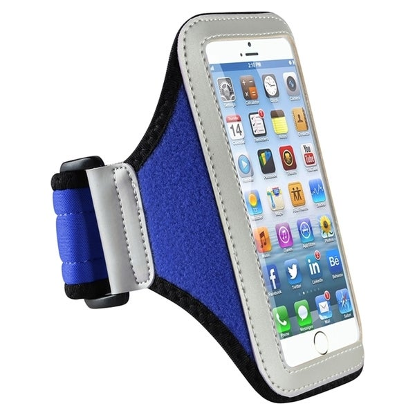 INSTEN Gym Armband Running Sportband Case Cover for Apple iPhone 6 4.7-inch