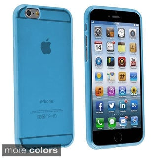 INSTEN Clear Slim Fit TPU Rubber Case Cover for Apple iPhone 6 Plus 5.5-inch
