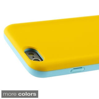 INSTEN Colorful Slim Fit Advanced Dual Hybrid Case for Apple iPhone 6 4.7-inch