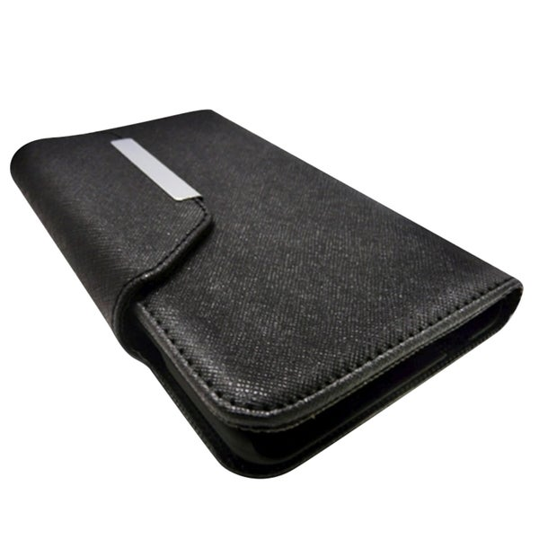 INSTEN Leather Magnetic Flap Card Wallet Case For Apple iPhone 6 Plus 5.5-inch