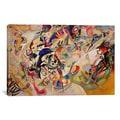 Wassily Kandinsky 'Composition VII' Canvas Print Wall Art