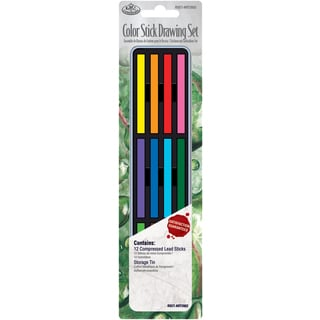 Color Stick Drawing Set W/Tin