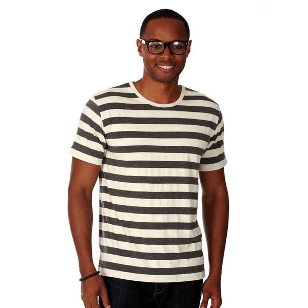 Zutoq, Men's, Striped, Crew Neck, T-Shirt