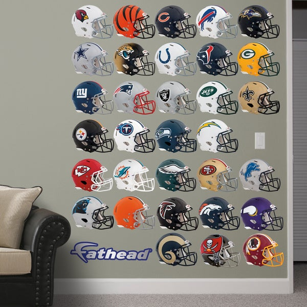 Fathead NFL 2014 Helmet Collection Wall Decals