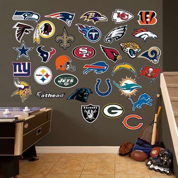 Fathead NFL 2014 Logo Collection Wall Decals