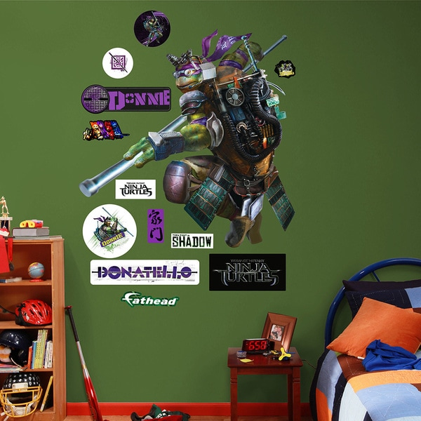 Fathead Teenage Mutant Ninja Turtles Movie Donatello Wall Decals