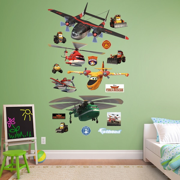 Fathead Disney Planes Collection Wall Decals