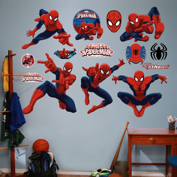 Fathead Ultimate Spiderman Collection Wall Decals 14020865