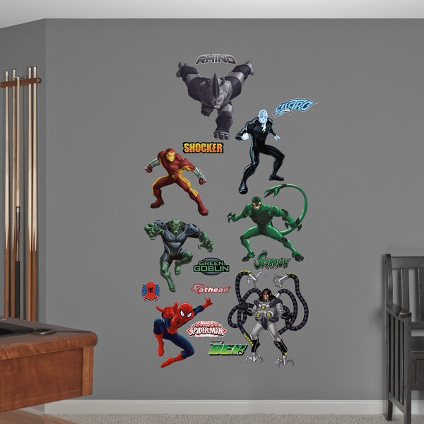 Fathead Ultimate Spiderman-Villians Collection Wall Decals 14020866