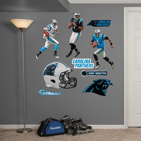 Fathead Cam Newton Hero Pack Wall Decals