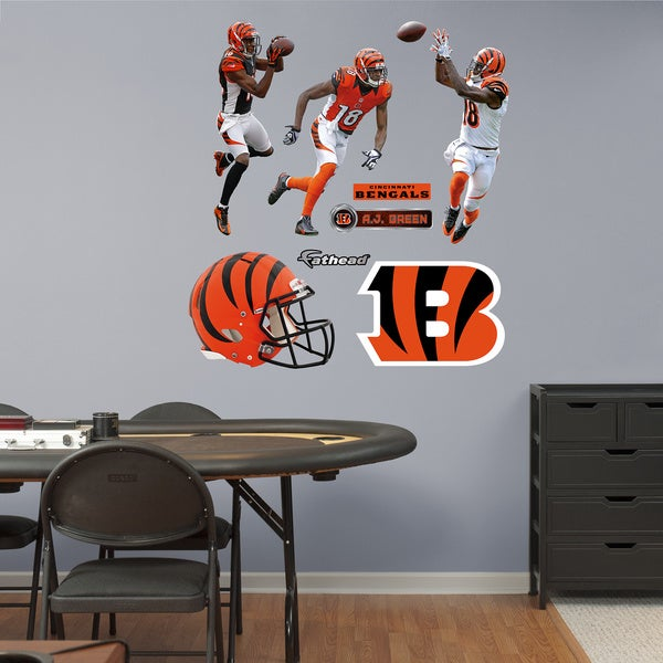 Fathead A.J. Green Hero Pack Wall Decals