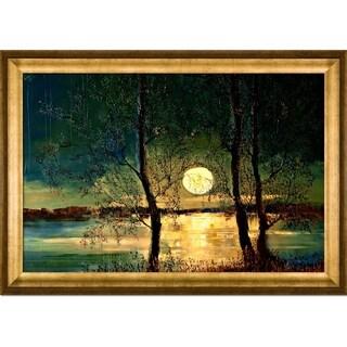 Justyna Kopania 'Moon' Framed Fine Art Print