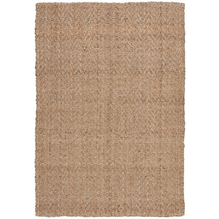 Nourison Basketweave Nature Rug (5' X 7')