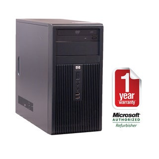 HP DX7400 Core 2 Duo 2.4GHz 4096MB 1000GB DVD Windows 7 Professional Tower Computer (Refurbished)