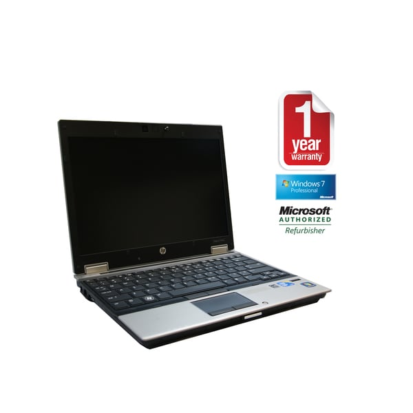 HP 2540P Core i7- 2.13GHz 4096MB 250GB 12-inch.DVDRW Windows 7 Professional Laptop Computer (Refurbished)