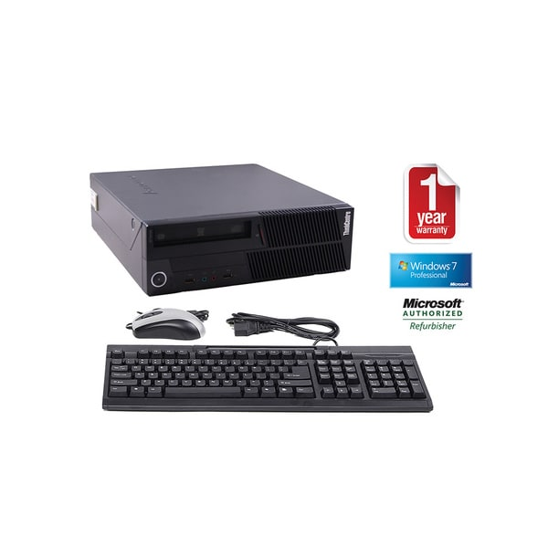 Lenovo ThinkCentre M90p Intel Core i5-650 3.2GHz 4096MB 250GB DVDRW Windows 7 Professional