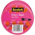 Scotch Solid Color Duct Tape 1.88:x20yd-Hot Pink