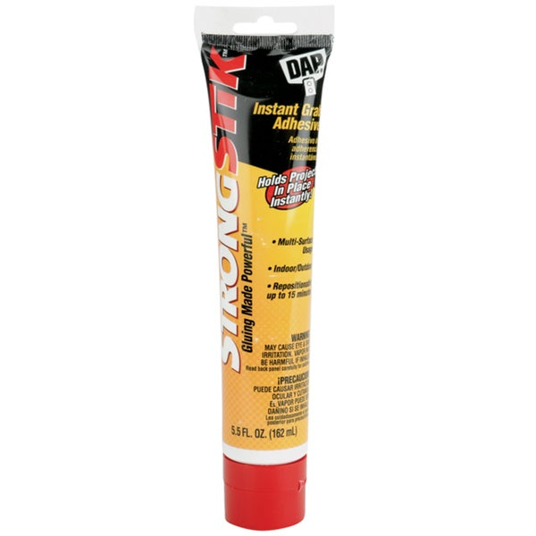 Strongstik Instant Grab Adhesive-5.5 Ounces