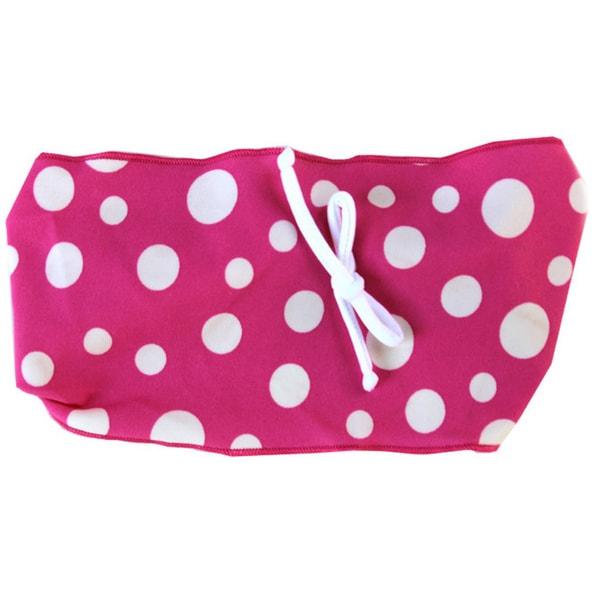 Azul Swimwear Dipin Dots Pink Polka-dot Headband