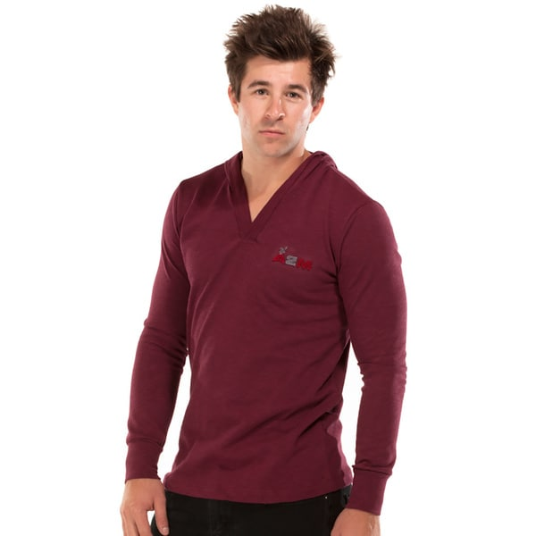 A2MUSA Men's Long Sleeve V-neck T-shirt