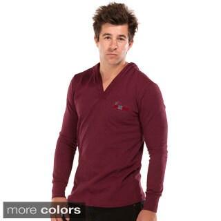 A2MUSA Men's Long Sleeve V-neck T-shirt