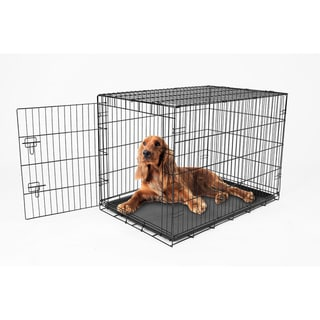 Carlson Compact Single Door Metal Dog Crate