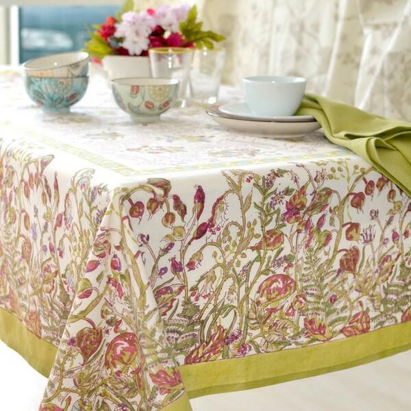 couleur nature petit fleur rectangle tablecloth 16649342. Black Bedroom Furniture Sets. Home Design Ideas