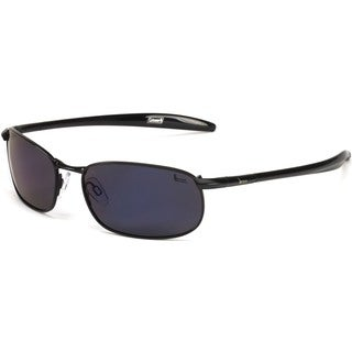 Coleman Unisex 'Roadster' Blue Rectangle Sport Sunglasses