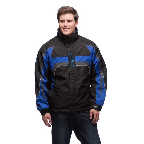 Mossi Men's 'Appex' Dark Blue Cold Weather Jacket
